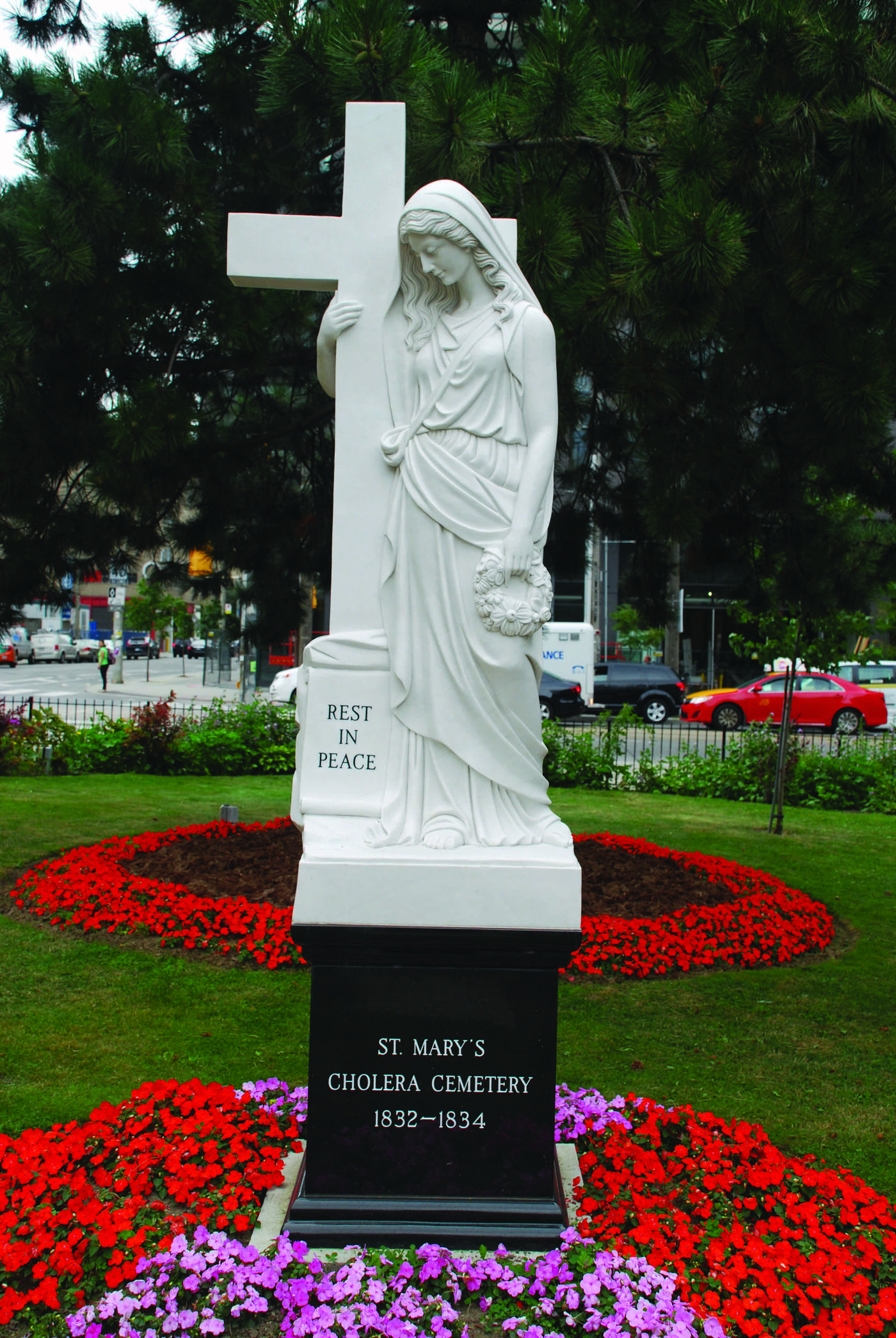 Toronto S Forgotten Cholera Victims Honoured With Monument